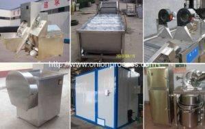 Semi-Automatic-Onion-Powder-Production-line