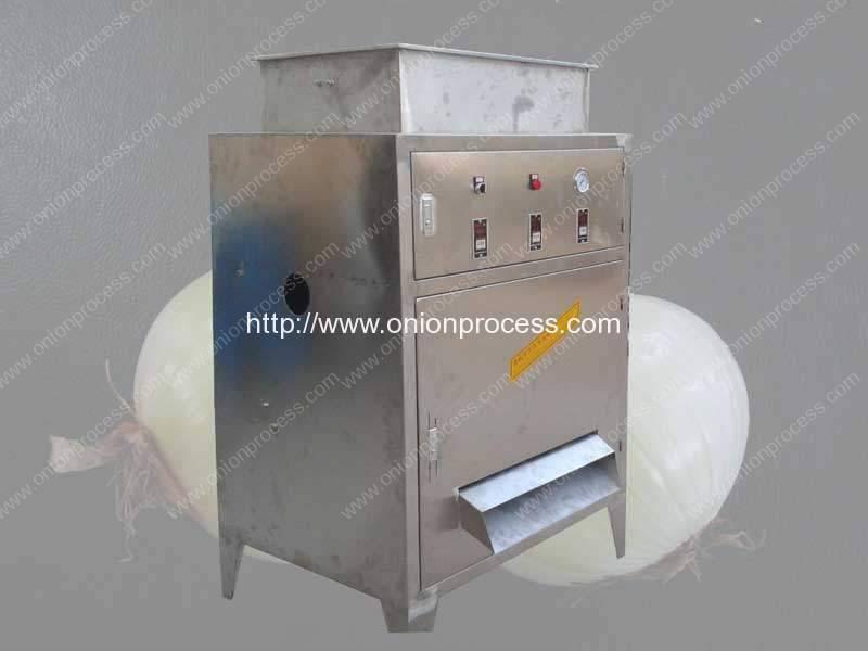 Pequeña máquina de pelar de la cebolla del acero inoxidable