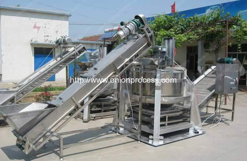 Automatic-Centrifugal-Type-Cutted-Onion-Dehydrate-Machine