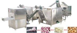 Small-Diameter-Onion-Peeling-Root-Cutting-and-Onion-Slicing-Machine