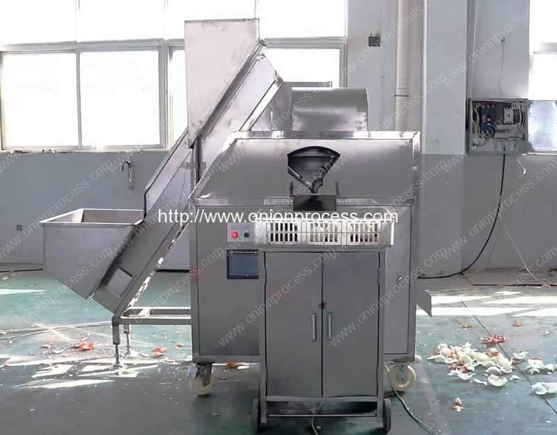 High-Quality-Pneumatic-Onion-Peeling-Machine-for-Hungary-Market