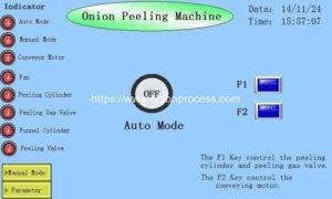 Manual Book of Advanced Belt Type Onion Peeling Machine
