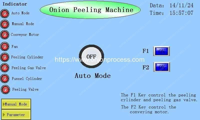 PLC-Control-Display-for-Onion-Peeling-Machine