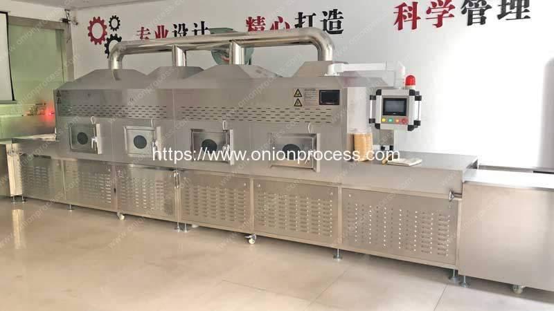 Automatic-Tunnel-Type-Onion-Powder-Microwave-Sterilizer