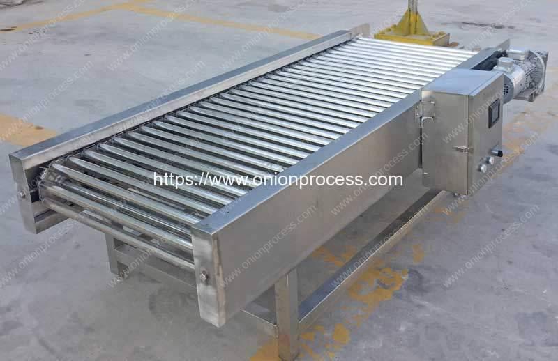 Rolling-Rod-Type-Onion-Select-Conveyor