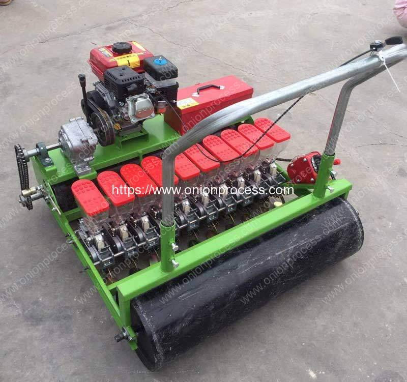 High-Precission-Man-Hold-Onion-Seeds-Planter-Machine