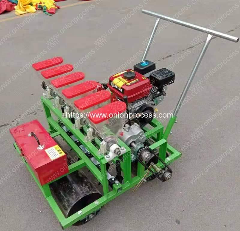 Diesel Engine Vegetable Seeds Planter Machine