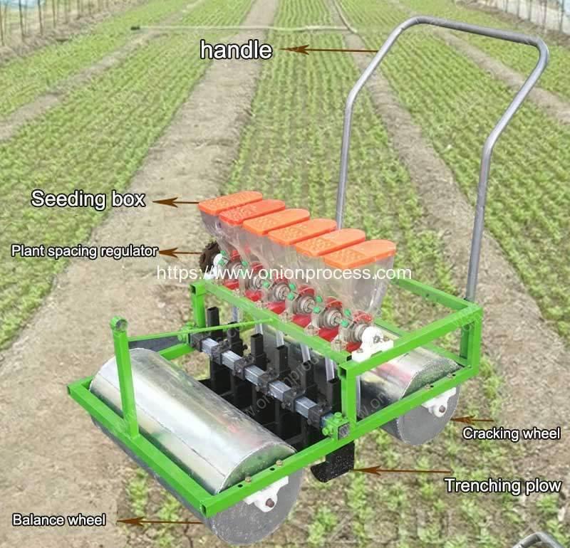 Manual Type Vegetable Seeds Planter Machine