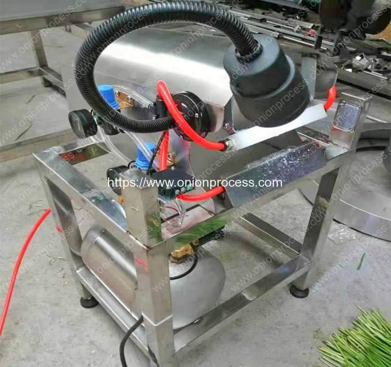 Pneumatic-Onion-Spring-Peeling-Cleaning-Machine