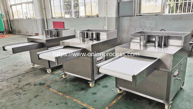Automatic-Reciprocate-Onion-Ring-Cutting-Machine-for-Ukraine-Customer