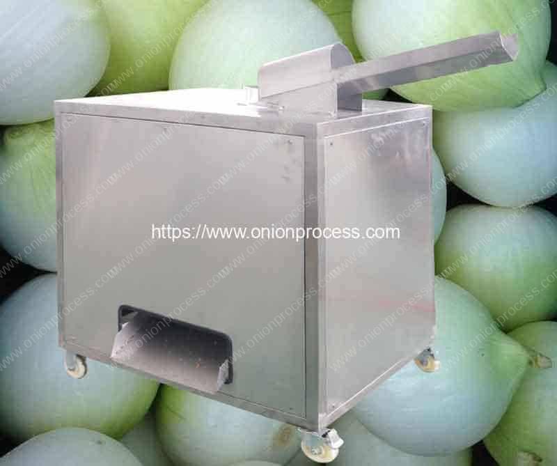Small-Auto-Feeding-Type-Onion-Peeling-Machine